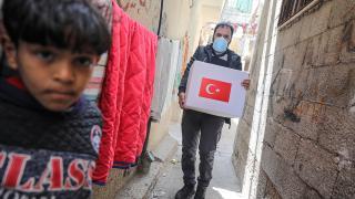 TİKA'dan Filistin'deki 14 bin 500 aileye gıda yardımı