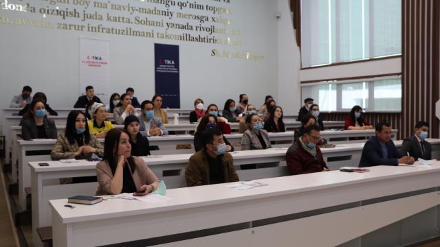 TİKA, Özbek uzmanlar için turizm eğitimi programı düzenledi