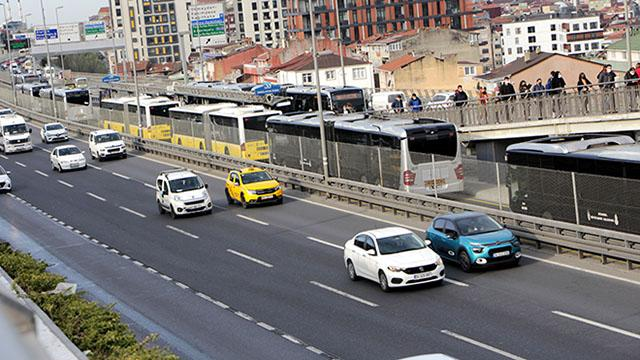 Kademeli mesai uygulaması İstanbul trafiğini rahatlattı