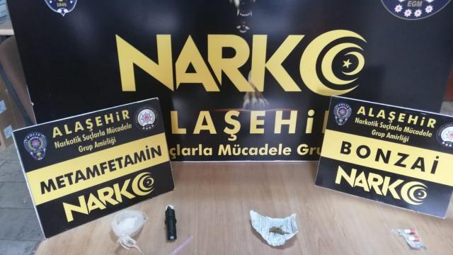 Manisada uyuşturucu operasyonu: 2 tutuklama