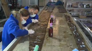Batık gemilerin ahşap parçaları günümüze kazandırılıyor