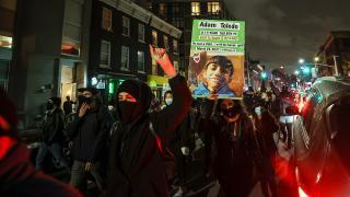 ABD'de polisin 13 yaşındaki çocuğu öldürmesi protesto edildi