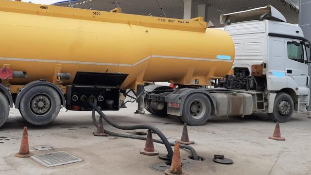 Kırıkkalede 31 bin litre akaryakıta el konuldu