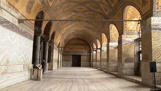 Ayasofya Camii'nin restorasyonunda en gelişmiş teknikler kullanılıyor
