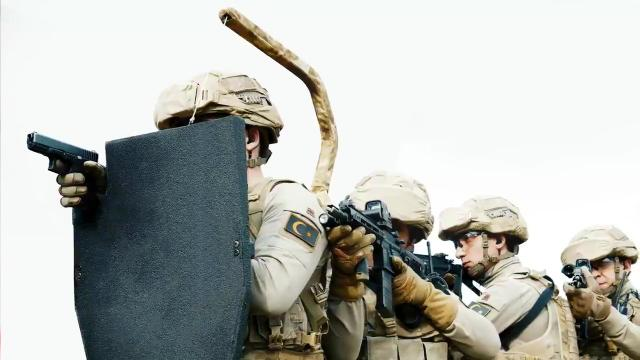 Balistik kalkan BALA KTS14, Jandarma'ya teslim edildi