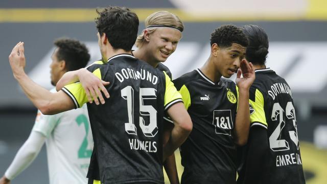Borussia Dortmund, Werder Bremeni rahat geçti