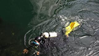 Su altı uzmanları Düden'e daldı: Evsel kirlilik kanıtlandı