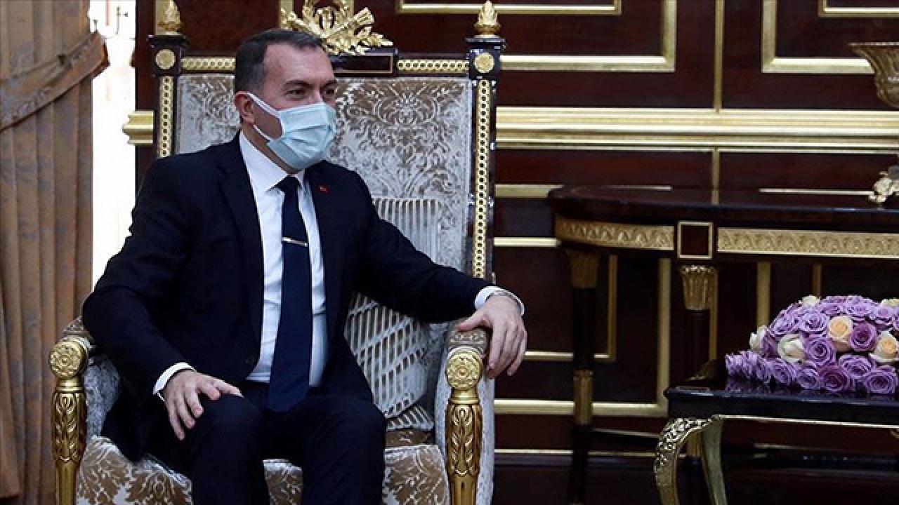 Bağdat Büyükelçisi Yıldız'dan IKBY Başkanı Barzani'ye veda ziyareti