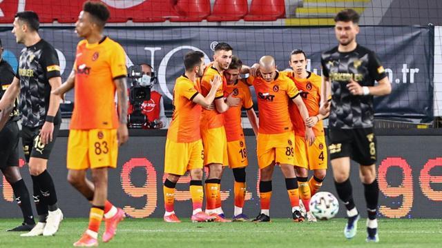 Galatasaray İzmirde hata yapmadı