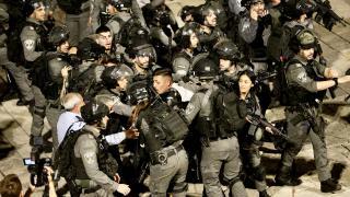 İsrail polisi Filistinlilere olan müdahalesini sürdürüyor