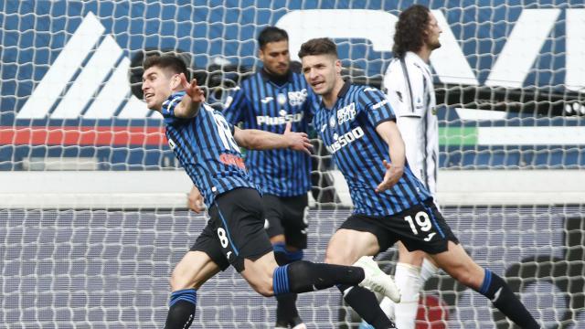 Juventusa bir darbe de Atalantadan