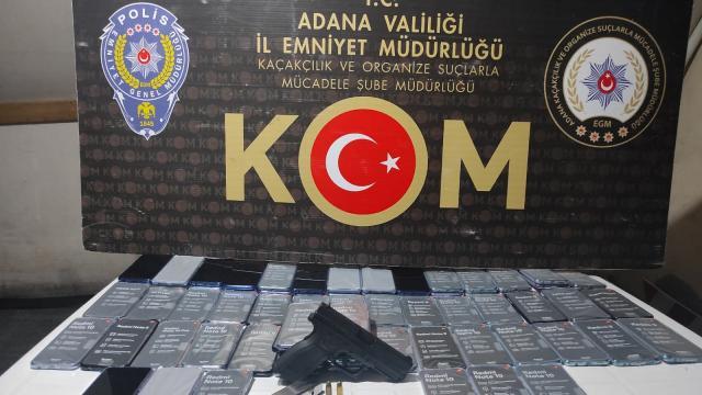 Adanada kaçakçılık operasyonunda 8 şüpheli yakalandı