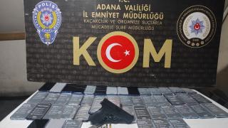 Adana'da kaçakçılık operasyonunda 8 şüpheli yakalandı