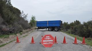 Kütahya'da bir köy Covid-19 nedeniyle karantinaya alındı