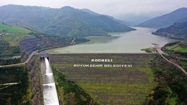 Yuvacık Barajı yağışlarla birlikte tamamen doldu