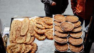 Pide ustaları iftar sofralarını lezzetlendiriyor
