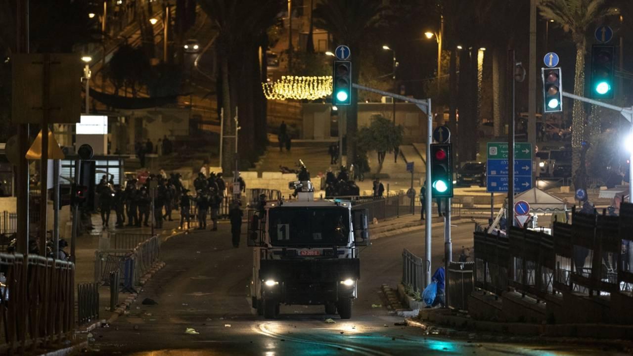 Doğu Kudüs'te İsrail zulmü: Teravih sonrası müdahale