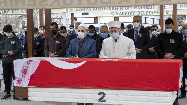 Hayatını kaybeden Cumhuriyet Savcısı Boyalı, Konyada defnedildi