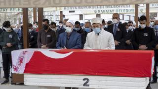 Hayatını kaybeden Cumhuriyet Savcısı Boyalı, Konya'da defnedildi