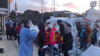 Güneş Adası'nda mahsur kalan 48 sığınmacı kurtarıldı