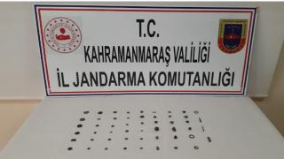 Kahramanmaraş'ta tarihi eser kaçakçılığı: 1 gözaltı