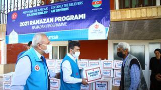 TDV'den Azerbaycan'a yardım eli