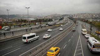 İstanbul'da haftanın ilk iş gününde trafik sakin seyrediyor