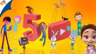TRT Çocuk'un YouTube'daki abone sayısı 5 milyonu aştı