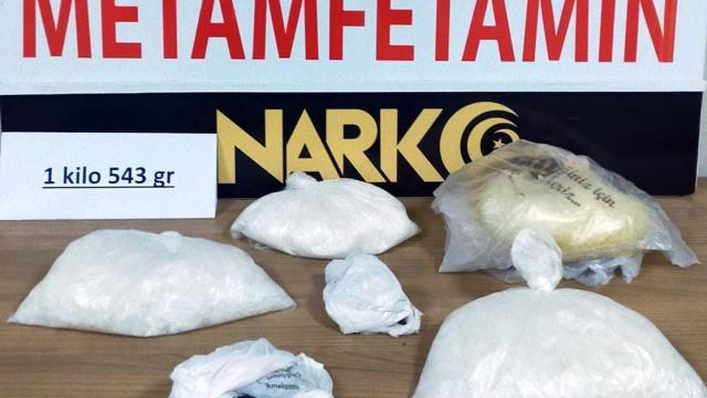 Nevşehirde 1,5 kilogram uyuşturucu ele geçirildi, 2 zanlı tutuklandı