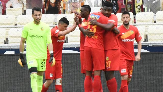 Yeni Malatyaspor tek gole kazandı