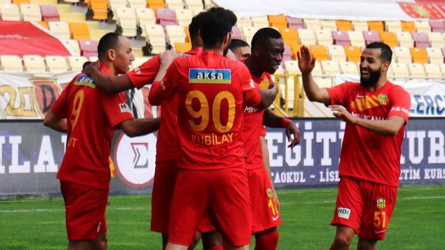 Yeni Malatyaspor 13 maç aradan sonra kazandı