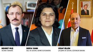 Siyasilerden yeni atanan bakanlara tebrik mesajı