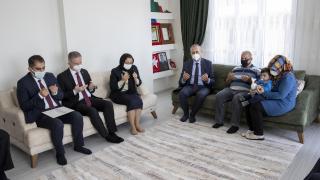 Adalet Bakanı Gül Gaziantep'te şehit ailesini ziyaret etti