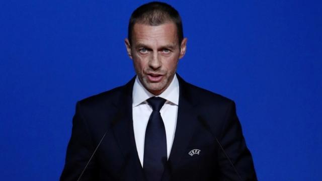 UEFA Başkanı Ceferin: Hatadan dönmeleri, takdir edilecek bir şey