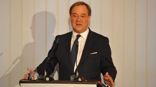 Almanyada Hristiyan Birlik partilerinin başbakan adayı Armin Laschet