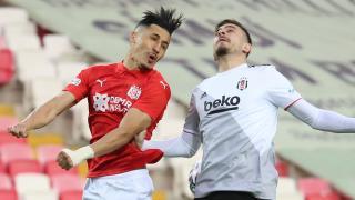 Beşiktaş Sivasspor'u geçemedi