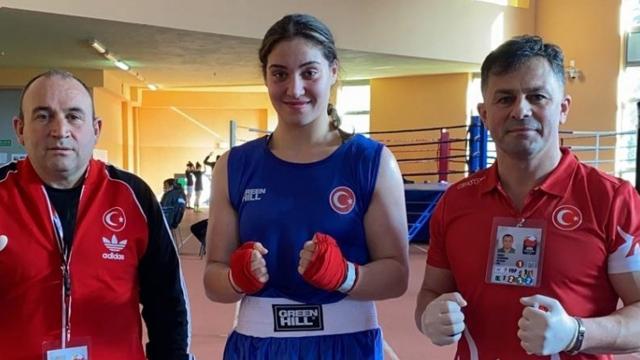 Milli boksçu Büşra Işıldar finale yükseldi