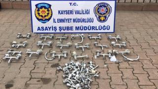 Kayseri'deki caminin musluklarını çalan 4 zanlı gözaltında