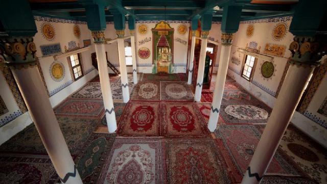 Tabea Antik Kentindeki 6 asırlık cami ibadete açıldı