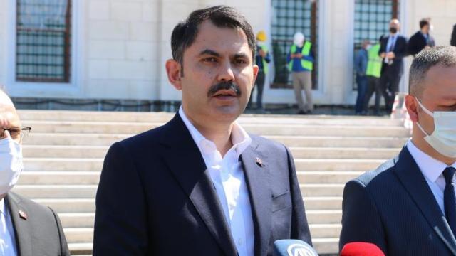 Bakan Kurum: Türkiyede 1 milyon 550 bin konutun dönüşümünü sağladık