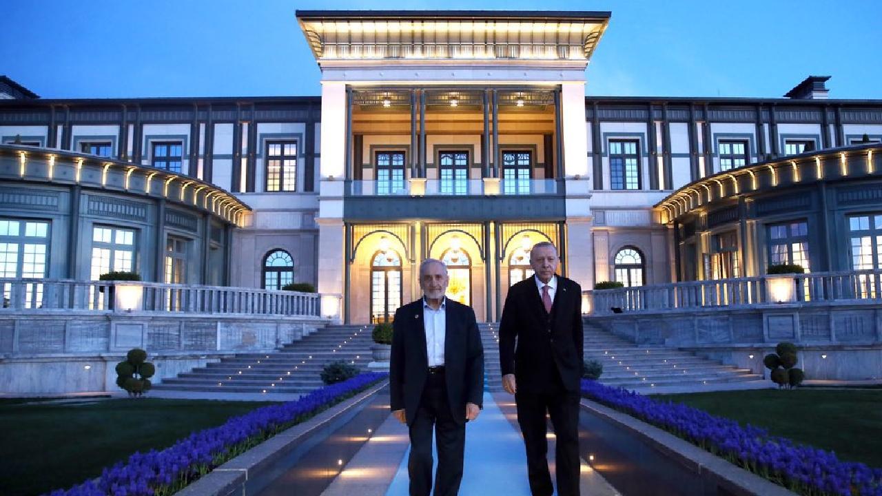 Erdoğan, Asiltürk ile bir araya geldi