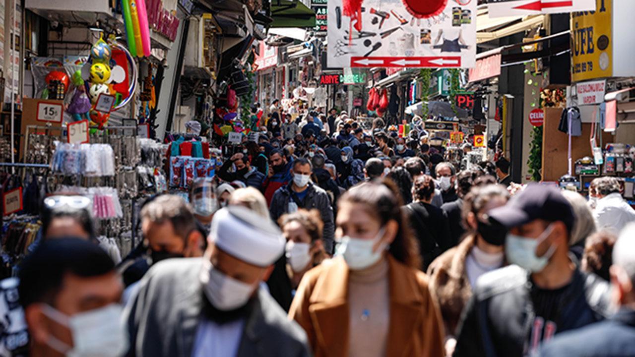 Eminönü'nde ramazan yoğunluğu