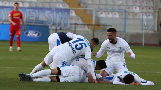 Erzurumspor son dakikada kazandı