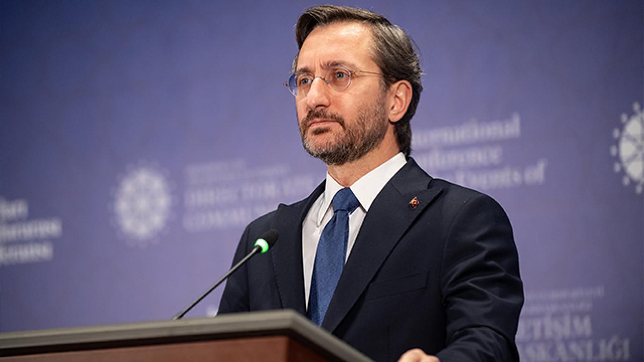 İletişim Başkanı Altun: Devletimiz, yeşil vatanımız için seferber oldu