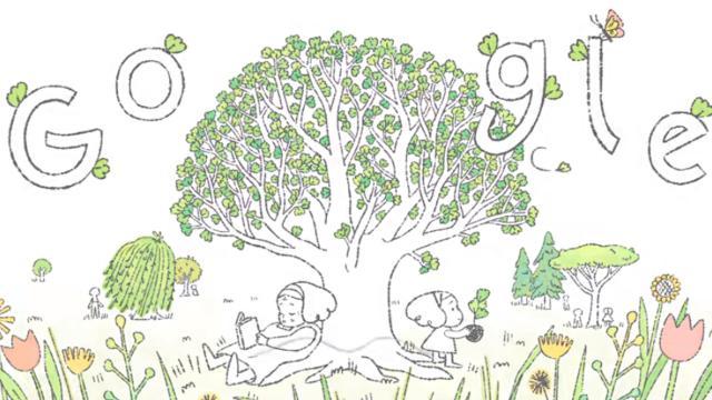 Googledan Dünya Gününe özel doodle