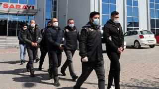 Yunanistan'a kaçarken yakalanan 4 FETÖ şüphelisi tutuklandı