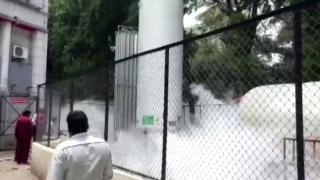Hindistan'da oksijen tankında sızıntı: 22 hasta hayatını kaybetti