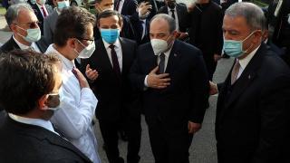 Bakan Akar ile Bakan Varank Kayseri'deydi