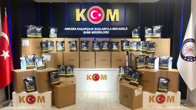 Ankarada mükerrer bandrollü tütün operasyonu