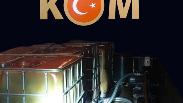 Kocaelide 3 ton kaçak akaryakıt ele geçirildi